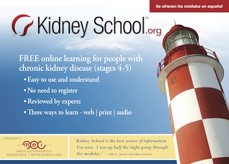 Kidney School postcards